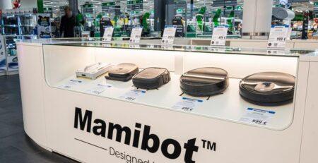 Mamibot robottolmuimejad